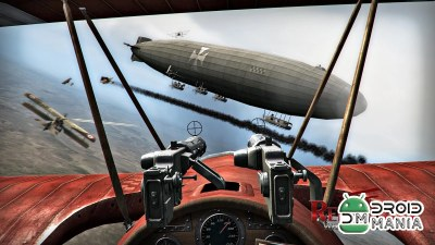 Скриншот Red Baron: War of Planes №1