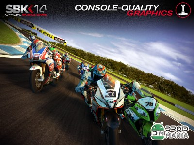 Скриншот SBK14 Official Mobile Game №1