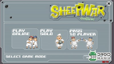 Скриншот Sheep War (WarSheep) - ONLINE №1