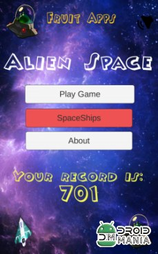 Скриншот Alien Space | Classic Game №1