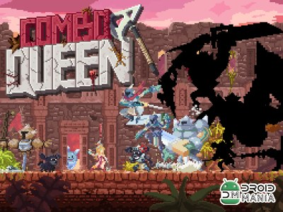 Скриншот Combo Queen - Action RPG / Combo Queen - Королева Комбо №1