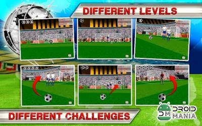 Скриншот Kick Flick Soccer Football HD №1