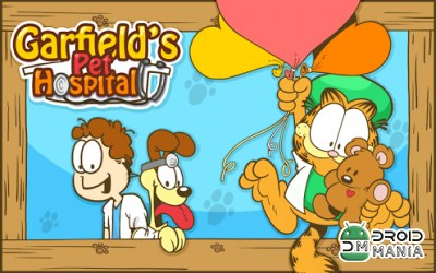 Скриншот Госпиталь Гарфилда / Garfield's Pet Hospital №1