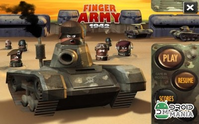Скриншот Finger Army 1942 №2