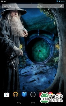 Скриншот Hobbit Live Wallpapers №1