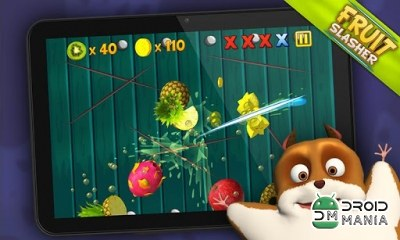 Скриншот Fruit Slasher 3D №3