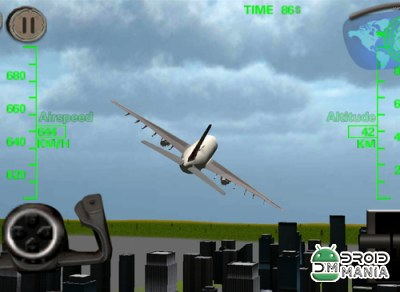 Скриншот Airplane Flight Simulator №2