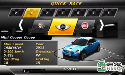 Скриншот GT Racing 2 – The Real Car Experience (2D Mobile) №3