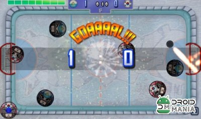 Скриншот Finger Ice Hockey №3
