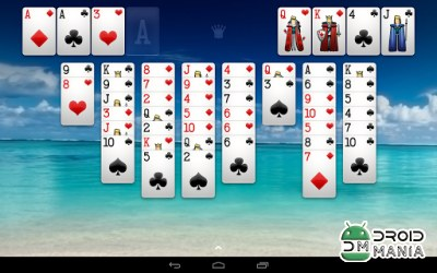 Скриншот FreeCell Solitaire №3