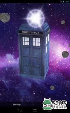 Скриншот TARDIS 3D Live Wallpaper №2