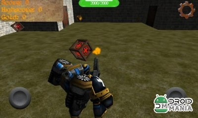 Скриншот Gladiator Robot Builder 3D №3