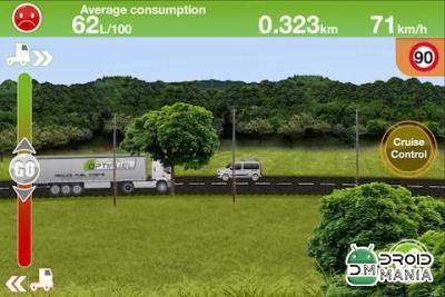 Скриншот Truck Fuel Eco Driving №2