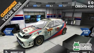 Скриншот World Rally Racing HD №2