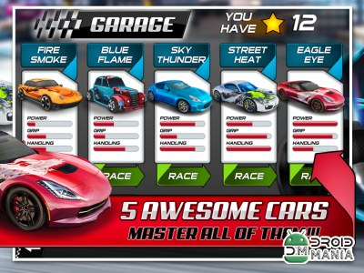 Скриншот 3D Drift Xtreme Race Simulator №2