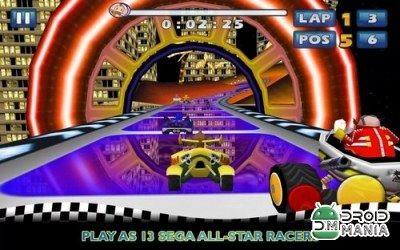 Скриншот Sonic & SEGA All-Stars Racing №2