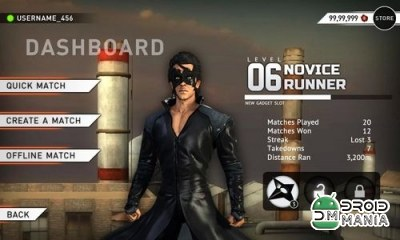 Скриншот Krrish 3: The Game №2
