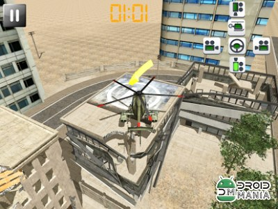 Скриншот Helicopter Rescue Pilot 3D №2