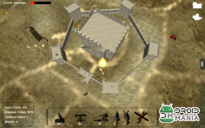 Скриншот Castle Defense 3D №4