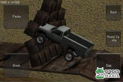 Скриншот 3D Stunt Car Race №2