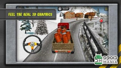 Скриншот HILL CLIMB TRANSPORT 3D №2