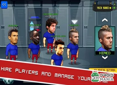 Скриншот Football Touch Z Arcade №2