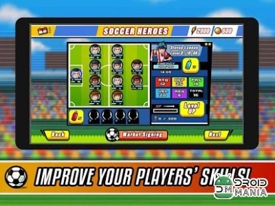 Скриншот Soccer Heroes - Road to Brazil №2