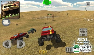 Скриншот 4х4 Off Road: Race With Gate №2