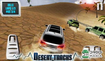 Скриншот SUV Desert Road Racing 4x4 3D / DESERT OFF ROAD №2