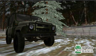 Скриншот Russian Winter Offroad Racer №2