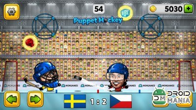 Скриншот Puppet Ice Hockey: 2014 №2