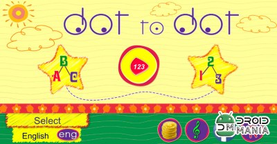 Скриншот Соединить точки / Dot to dot - educational game №1