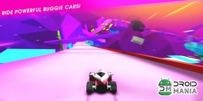 Скриншот Stunt Rush - 3D Buggy Racing №2