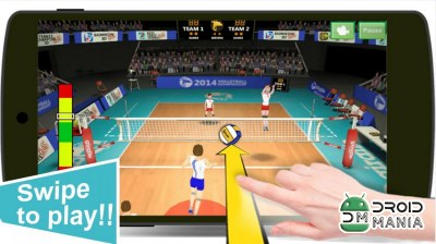 Скриншот Volleyball Champions 3D №2