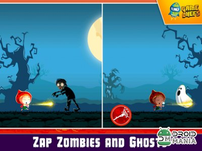 Скриншот Princess vs Stickman Zombies №2