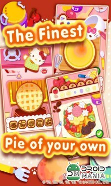 Скриншот Hello Kitty's Pie Shop №2