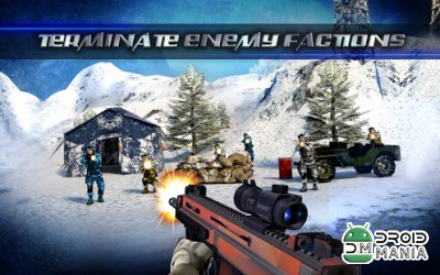 Скриншот Mountain Sniper Killer 3D FPS №2