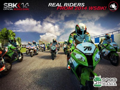 Скриншот SBK14 Official Mobile Game №2