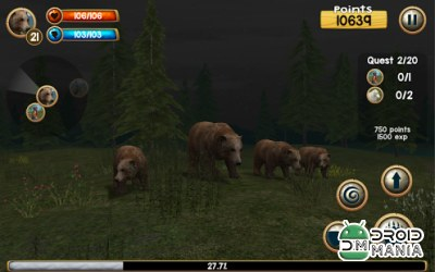 Скриншот Wild Bear Simulator 3D №2