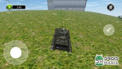 Скриншот Tank Battle 3D: World War II №2