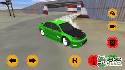 Скриншот Driftkhana Freestyle Drift App №3
