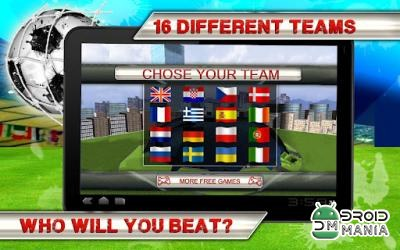 Скриншот Kick Flick Soccer Football HD №2