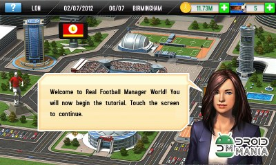 Скриншот Real Football Manager 2013 №2