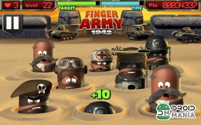 Скриншот Finger Army 1942 №3