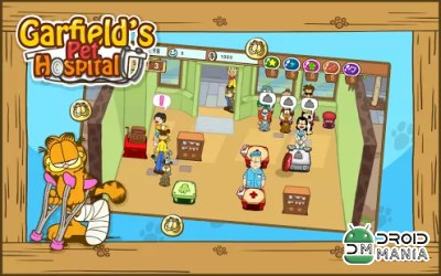 Скриншот Госпиталь Гарфилда / Garfield's Pet Hospital №2