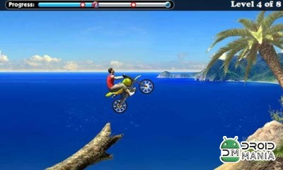Скриншот Beach Bike - Racing Moto №3