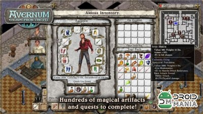 Скриншот Avernum: Escape From the Pit №4