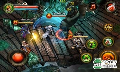 Скриншот Dungeon Hunter 2 HD №4