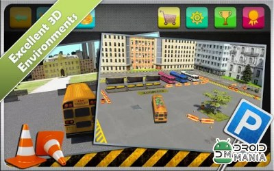 Скриншот Bus Parking Simulator 3D №3