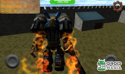 Скриншот Gladiator Robot Builder 3D №4